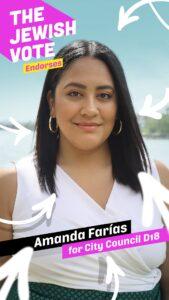 Bronx District 18 Vote Amanda Farias #1